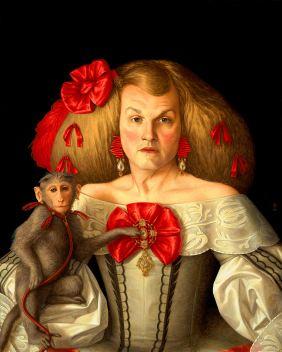 3 - Infanta - acrylic on panel - 30x24 - 2014 full
