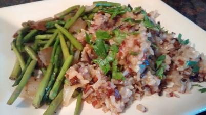 Rice Pilaf Piccata