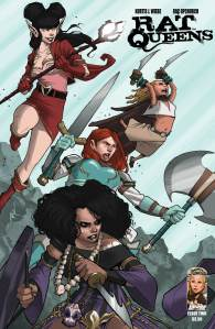 Rat Queens Cover